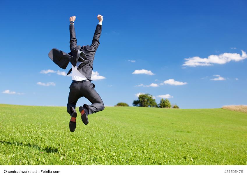 Freudensprünge können Unternehmen auf dem platten Land machen, wenn sie wieder einen qualifizierten Mitarbeiter eingestellt haben.