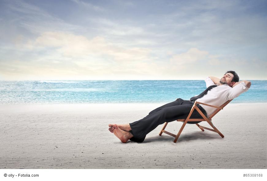 Urlaub buchen im Büro? Für viele eine Selbstverständlichkeit.
