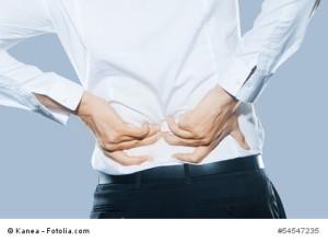 Braucht kein Mensch: Rückenschmerzen.